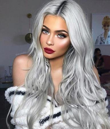 Srebrnasto plava ( Silver blonde)
