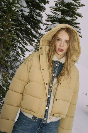 kratka puffer jakna