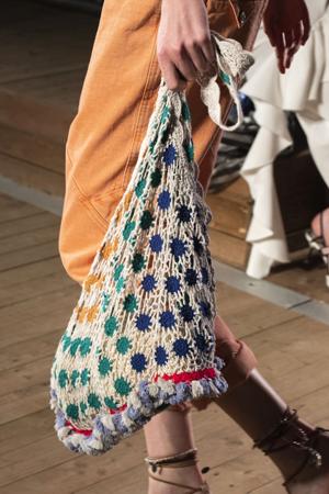 sarena štrikana torba