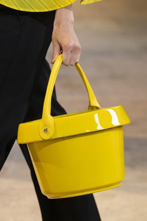 žuta kofica torba