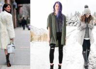 Zimske modne kombinacije