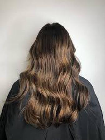 duga sjajna braon kosa