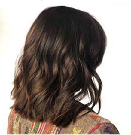 bogata braon na kracoj kosi