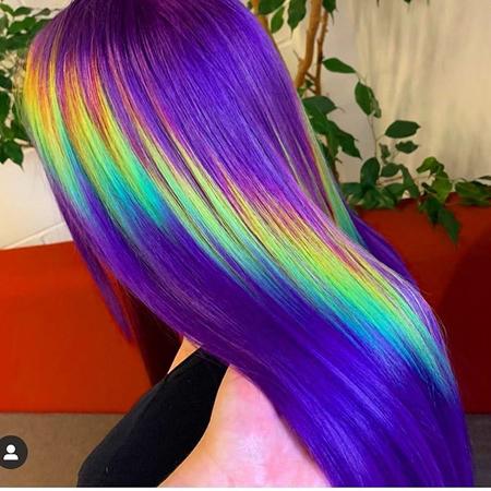 holographic boja kose- jarke boje