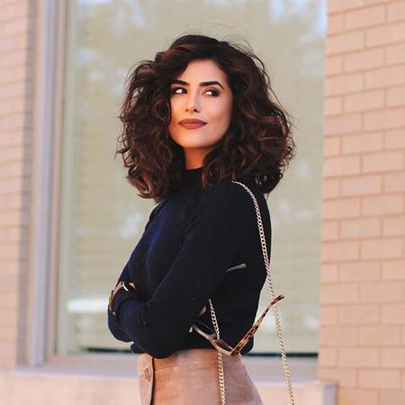 frizure za talasastu kosu- voluminozni lob
