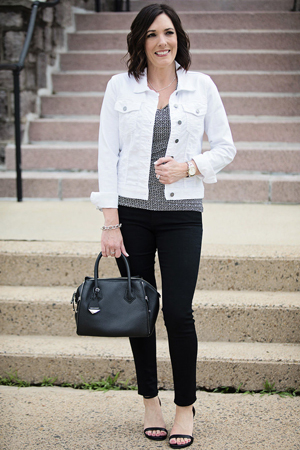 bela teksas jakna