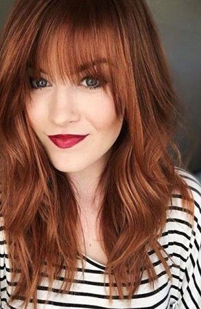 nijanse crvene boje kose bakarno crvena
