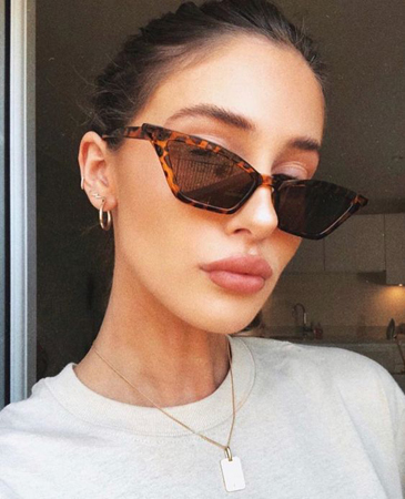 zenske naočare za sunce-mackaste kornjaca print