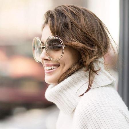 zenske naočare za sunce- velike okrugle