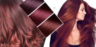 Mahagoni boja kose